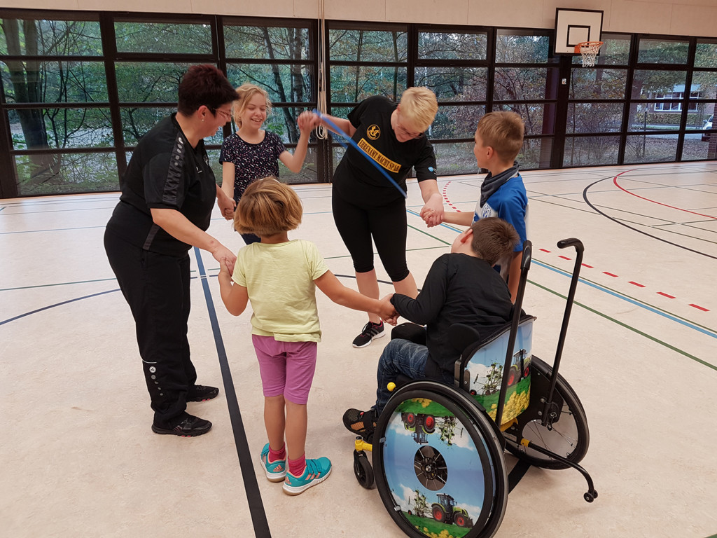 Kinder mit Handicap