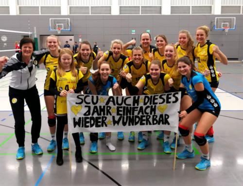 Volleyball: SCU macht 6-Punkte-Wochenende perfekt