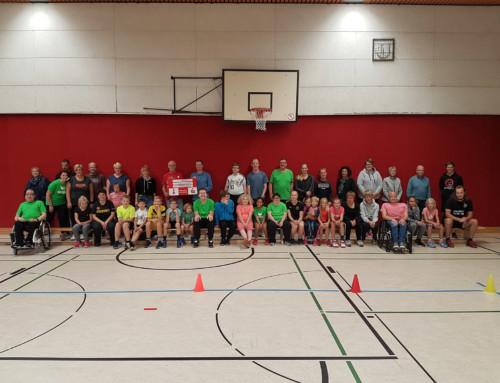 Inklusives Spaßsportfest beim SCU Emlichheim, gefördert durch die Kreissparkasse